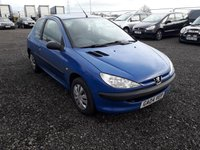 USED 2004 04 PEUGEOT 206 1.4 STYLE HDI 3d 68 BHP