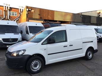 2014 VOLKSWAGEN CADDY 1.6 TDI MAXI LONG C20 STARTLINE 102BHP. 1 OWNER. FINANCE. £4750.00
