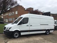 USED 2015 15 MERCEDES-BENZ SPRINTER 2.1 313CDI LWB HIGH ROOF 130BHP 1 OWNER. FULL HISTORY 1 OWNER. LOW FINANCE RATE. FINANCE. PX WELCOME