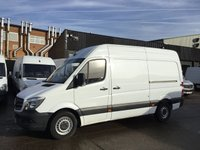 USED 2015 65 MERCEDES-BENZ SPRINTER 2.1 313CDI MWB HIGH ROOF 130BHP. LOW 57K. FULL HISTORY. 1 OWNER. FSH. LOW FINANCE. ONLY 57K. PX WELCOME