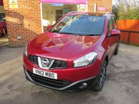 USED 2012 12 NISSAN QASHQAI 1.5 N-TEC DCI 5d 110 BHP LOW MILEAGE, NICE EXTRAS.FINANCE ME TODAY-UK DELIVERY & PX POSSIBLE