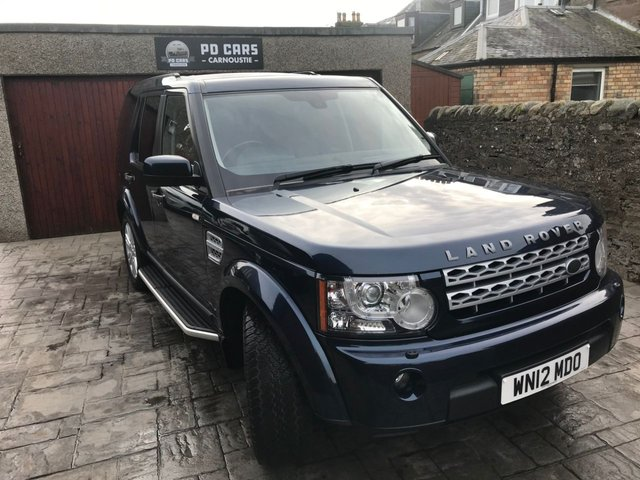 2012 12 LAND ROVER DISCOVERY 4 3.0 4 SDV6 XS 5d AUTO 255 BHP