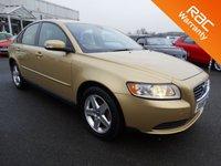 USED 2008 58 VOLVO S40 1.6 S 4d 100 BHP