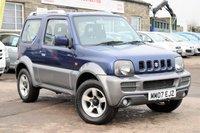 2007 SUZUKI JIMNY 1.3 JLX PLUS 3d 83 BHP £5495.00