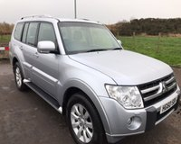 USED 2010 60 MITSUBISHI SHOGUN 3.2 DI-D ELEGANCE 5d 7 SEAT 4x4 AUTO 197 BHP 6 MONTHS PARTS+ LABOUR WARRANTY+AA COVER