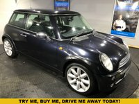 USED 2006 56 MINI HATCH COOPER 1.6 COOPER 3d 114 BHP Part leather upholstery  :     Climate Control/Air-Conditioning      :      Isofix fittings      :      17-inch alloy wheels      :      New front brake discs + pads