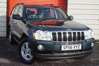 USED 2006 56 JEEP GRAND CHEROKEE 3.0 V6 CRD LIMITED 5d 215 BHP