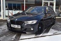 2014 BMW 3 SERIES 2.0 320D M SPORT TOURING 5d AUTO 181 BHP £16890.00