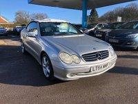 2004 MERCEDES-BENZ CLK 3.2 CLK320 AVANTGARDE 2d 218 BHP £4499.00