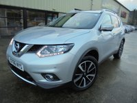 USED 2017 66 NISSAN X-TRAIL 1.6 N-VISION DCI 5d 130 BHP Brilliant 7 Seater SUV, Excellent Condition, No Deposit Finance Available, Part Exchange Welcomed