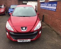 USED 2009 09 PEUGEOT 308 1.6 VERVE 5d 120 BHP 2 OWNERS, 8 STAMPS