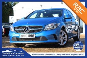 2016 MERCEDES-BENZ A CLASS 1.5 A 180 D SPORT 5d AUTO 107 BHP £15250.00