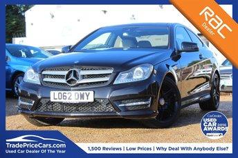 2013 MERCEDES-BENZ C CLASS 2.1 C250 CDI BLUEEFFICIENCY AMG SPORT 2d 204 BHP £12450.00