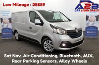 USED 2014 64 RENAULT TRAFIC 1.6 DCI SPORT ENERGY 120 BHP, Low Mileage (28689), Sat Nav, Air Con, Bluetooth, Cruise Control, Rear Parking Sensors, Alloy Wheels **Drive Away Today** Over The Phone Low Rate Finance Available, Just Call us on 01709 866668**