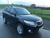 2011 HYUNDAI SANTA FE 2.2 CRDI PREMIUM 4x4 7 SEATS 5dr AUTO 194 BHP £7999.00