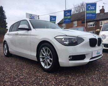 2012 BMW 1 SERIES 1.6 116D EFFICIENTDYNAMICS 5d 114 BHP £10195.00
