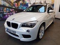 2013 BMW X1 2.0 XDRIVE20D M SPORT 5d AUTO 181 BHP £13294.00