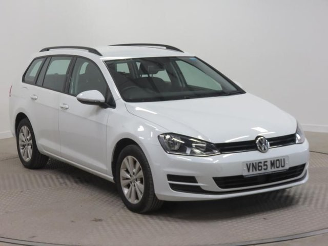 2015 65 VOLKSWAGEN GOLF 1.6 SE TDI BLUEMOTION TECHNOLOGY DSG 5d AUTO 109 BHP