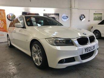 2012 BMW 3 SERIES 2.0 320D M SPORT TOURING 5d 181 BHP £8990.00