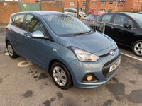 USED 2015 HYUNDAI I10 1.2 SE 5d AUTO 86 BHP AUTOMATIC WITH ONLY 10756 MILES! GOOD SPEC WITH AIR CONDITIONING AND AUX INPUT!
