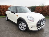 USED 2016 16 MINI HATCH COOPER 1.5 COOPER 3d  * ONE OWNER FROM NEW * BLUETOOTH * DAB RADIO *