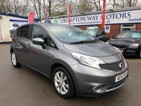 USED 2014 14 NISSAN NOTE 1.2 ACENTA PREMIUM DIG-S 5d AUTO 98 BHP 0%  FINANCE AVAILABLE ON THIS CAR PLEASE CALL 01204 393 181
