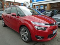 USED 2016 16 CITROEN C4 GRAND PICASSO 2.0 BLUEHDI EXCLUSIVE PLUS EAT6 5d AUTO 148 BHP NAV, PAN ROOF, MASSAGE SEATS
