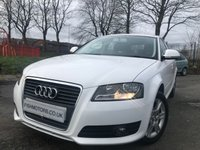 2010 AUDI A3 1.6 MPI SE 5d 101BHP WITH PRIVATE PLATE Y11LJM £5290.00