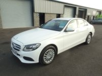 2014 MERCEDES-BENZ C CLASS 2.1 C220 BLUETEC SE 4d AUTO 170 BHP SAT NAV LEATHER £10991.00