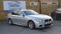 2011 BMW 5 SERIES 3.0 525D M SPORT 4d AUTO 202 BHP £10984.00