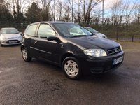 USED 2003 53 FIAT PUNTO 1.2 8V ACTIVE 3d  WITH A VERY LOW MILEAGE AND A NEW MOT LOW MILEAGE PART EXCHANGE