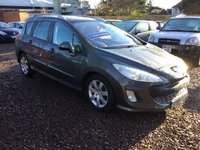 USED 2008 08 PEUGEOT 308 1.6 SW SE HDI 5d 110 BHP low price diesel  estate in great condition