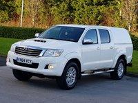2014 TOYOTA HI-LUX 3.0 INVINCIBLE 4X4 D-4D DCB 1d AUTO 169 BHP £15250.00