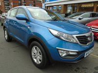 USED 2013 63 KIA SPORTAGE 1.7 CRDI 1 5d 114 BHP LOW FINANCE RATES AVAILABLE