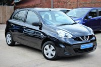 USED 2015 15 NISSAN MICRA 1.2 VISIA 5d AUTO 79 BHP **** VERY LOW MILEAGE AUTOMATIC ****