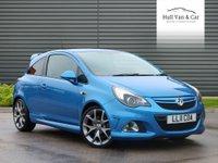 2011 VAUXHALL CORSA 1.6 VXR BLUE EDITION 3d 189 BHP £6495.00