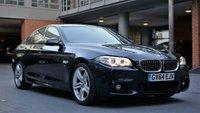 2015 BMW 5 SERIES 3.0 530D M SPORT 4d AUTO 255 BHP