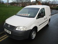 2010 VOLKSWAGEN CADDY 2.0 C20 SDI 1d 68 BHP £SOLD
