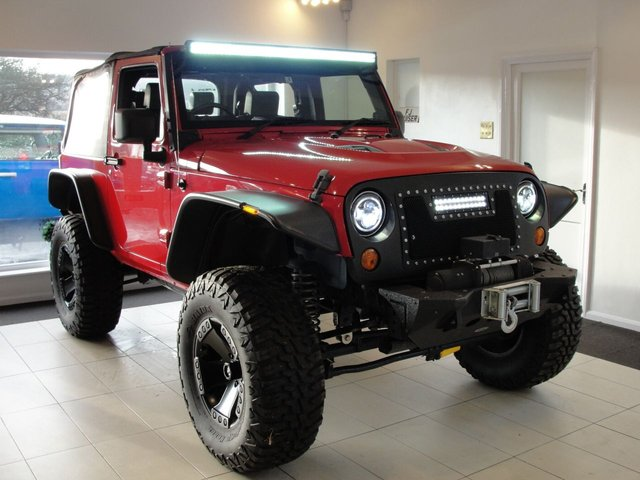 2008 58 JEEP WRANGLER JK 3.8L V6 Petrol Automatic 4x4 Soft Top. Lifted For Amazing Off-road. VAT Qualifying