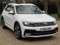 2017 VOLKSWAGEN TIGUAN 2.0 R LINE TDI BMT 4MOTION DSG 5d AUTO 148 BHP £26000.00