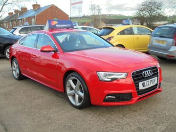 2012 AUDI A5 2.0 TDI S LINE S/S 5d 177 BHP *FULL LEATHER* LED DRL* EXCELLENT+ £12450.00