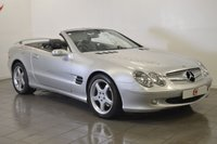USED 2005 05 MERCEDES-BENZ SL 350 AUTO CONVERTIBLE ONLY 58,000 MILES WITH FULL HISTORY + SAT NAV + SPOILER + LEATHER