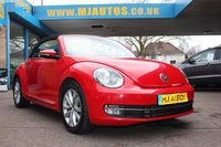 2015 VOLKSWAGEN BEETLE 2.0 DESIGN TDI BLUEMOTION TECHNOLOGY 2dr 108 BHP