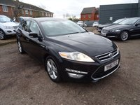 USED 2011 61 FORD MONDEO 1.6 TITANIUM X TDCI 5d 114 BHP CAMBELT & WATER PUMP DONE AT 103,597 MILES