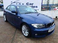 USED 2010 60 BMW 1 SERIES 2.0 118D M SPORT 2d 141 BHP