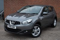 USED 2011 61 NISSAN QASHQAI 1.5 ACENTA DCI 5d 110 BHP WE OFFER FINANCE ON THIS CAR
