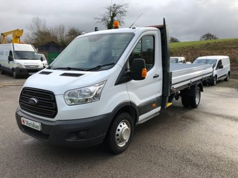 2016 FORD TRANSIT T350 13'6 DROPSIDE LWB 125PS £15250.00