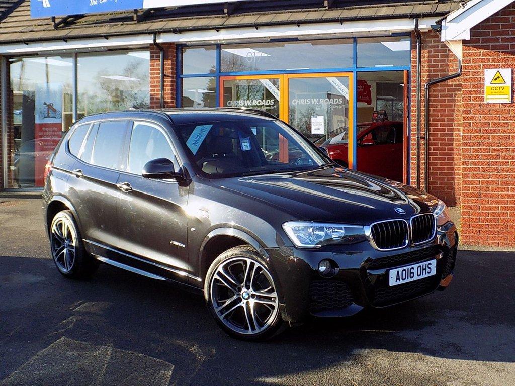 USED 2016 16 BMW X3 2.0 xDrive20d M Sport 5dr (190) ** 20 Inch Alloys & Pro Nav **