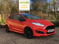 USED 2015 65 FORD FIESTA 1.0 ZETEC S RED EDITION 3dr £20 Per Year Tax!