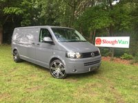 USED 2014 64 VOLKSWAGEN TRANSPORTER 2.0 T32/140 TDI LWB AIR CON Fantastic Specification, Full VW Service History